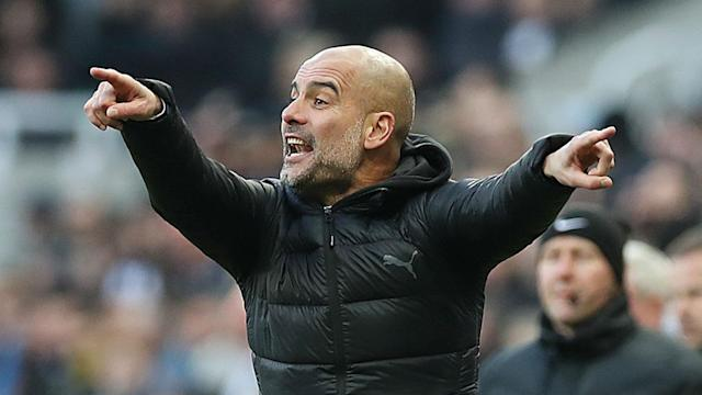 Fernandinho looks set to continue in defence for Manchester City after Pep Guardiola revealed he preferred him in that position.