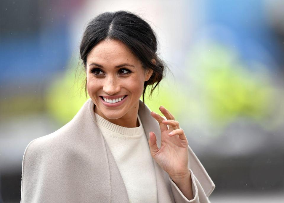 """<p>""""As I'm getting older, my approach to aging is quite different,"""" she told <em><a href=""""https://www.besthealthmag.ca/best-you/yoga/meghan-markle-the-beauty-of-balance/"""" rel=""""nofollow noopener"""" target=""""_blank"""" data-ylk=""""slk:Best Health"""" class=""""link rapid-noclick-resp"""">Best Health</a> </em>in 2016. """"I make sure that I take care of my skin and body, especially with the work hours I have. And I don't just take care of myself for aesthetic reasons but because how I feel is dictated by what I'm eating, how much rest I'm getting, and how much water I'm drinking. If I don't have time for a long workout, I'll grab my dog and go for a quick run. Being active is my own moving meditation.""""</p>"""