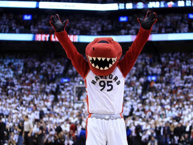 This is a Toronto Raptor. (Getty Images)