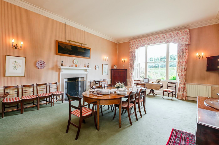 The producers wanted to feature the dining room of the mansion (SWNS)