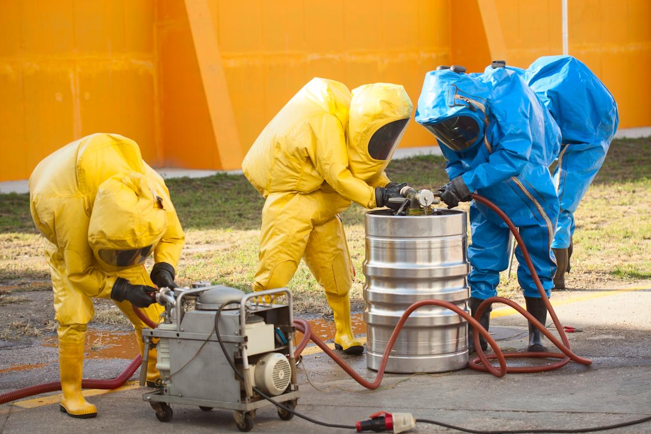 Median annual salary: $38,200. You might need to get rid of asbestos one day and radioactive or nuclear waste the next. All you need is a high school diploma or GED, and be okay with spending your days with toxic waste. (Getty)