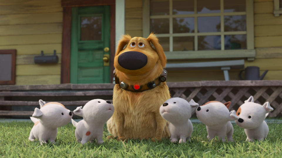 The canine star of Pixar's 'Up' takes centre stage in 'Dug Days'. (Disney/Pixar)
