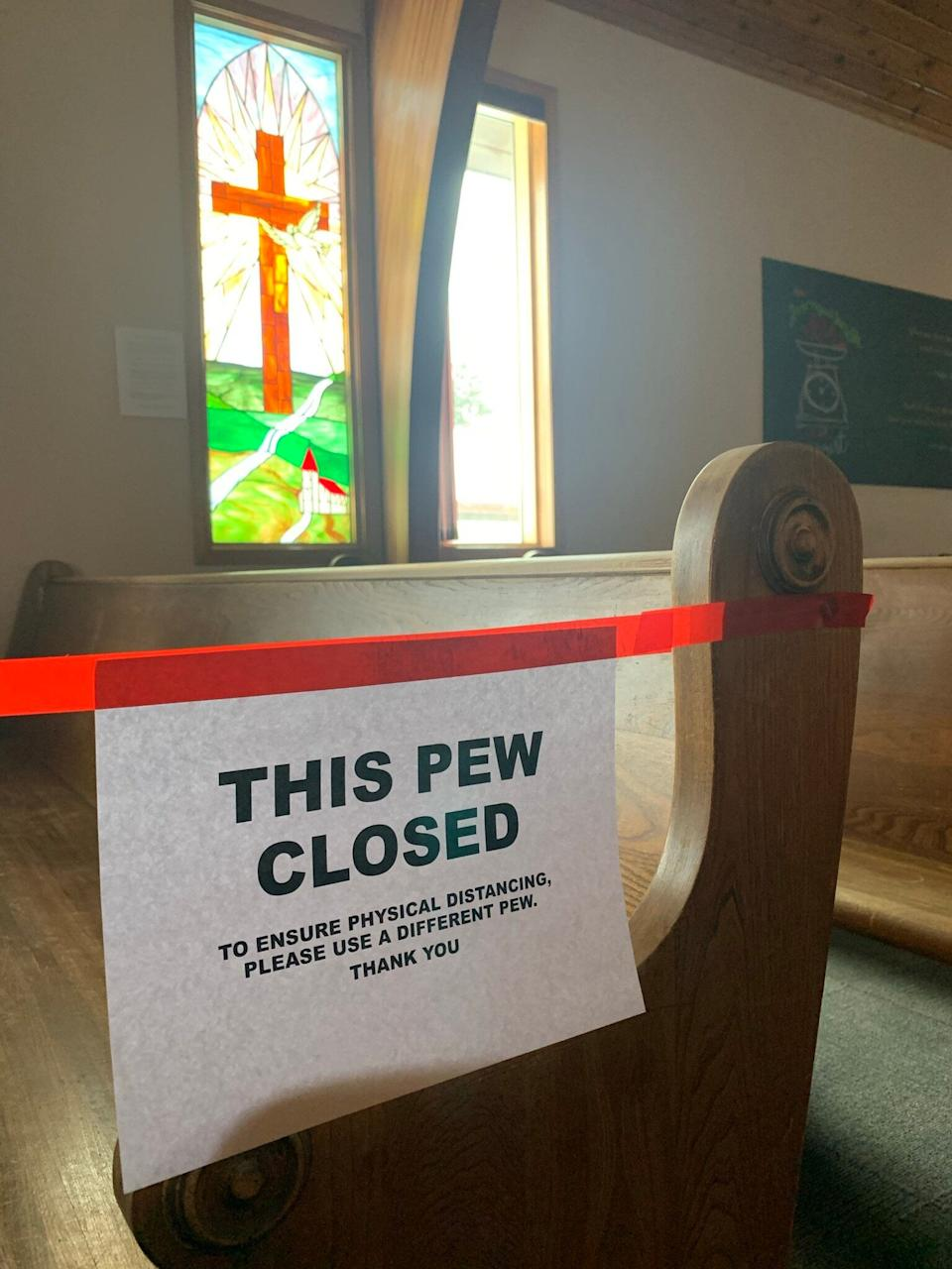Many churches across Canada are required to limit in-person gatherings, but in some high-profile cases, churches have ignored pandemic restrictions outright. (Photo: Jonathon Shierman)