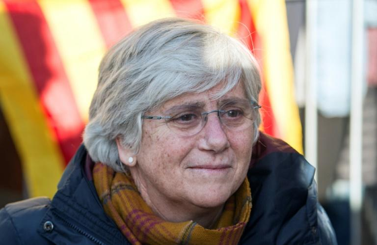 Former Catalan education minister Clara Ponsati 62, was to face a scheduled court appearance on a sedition charge