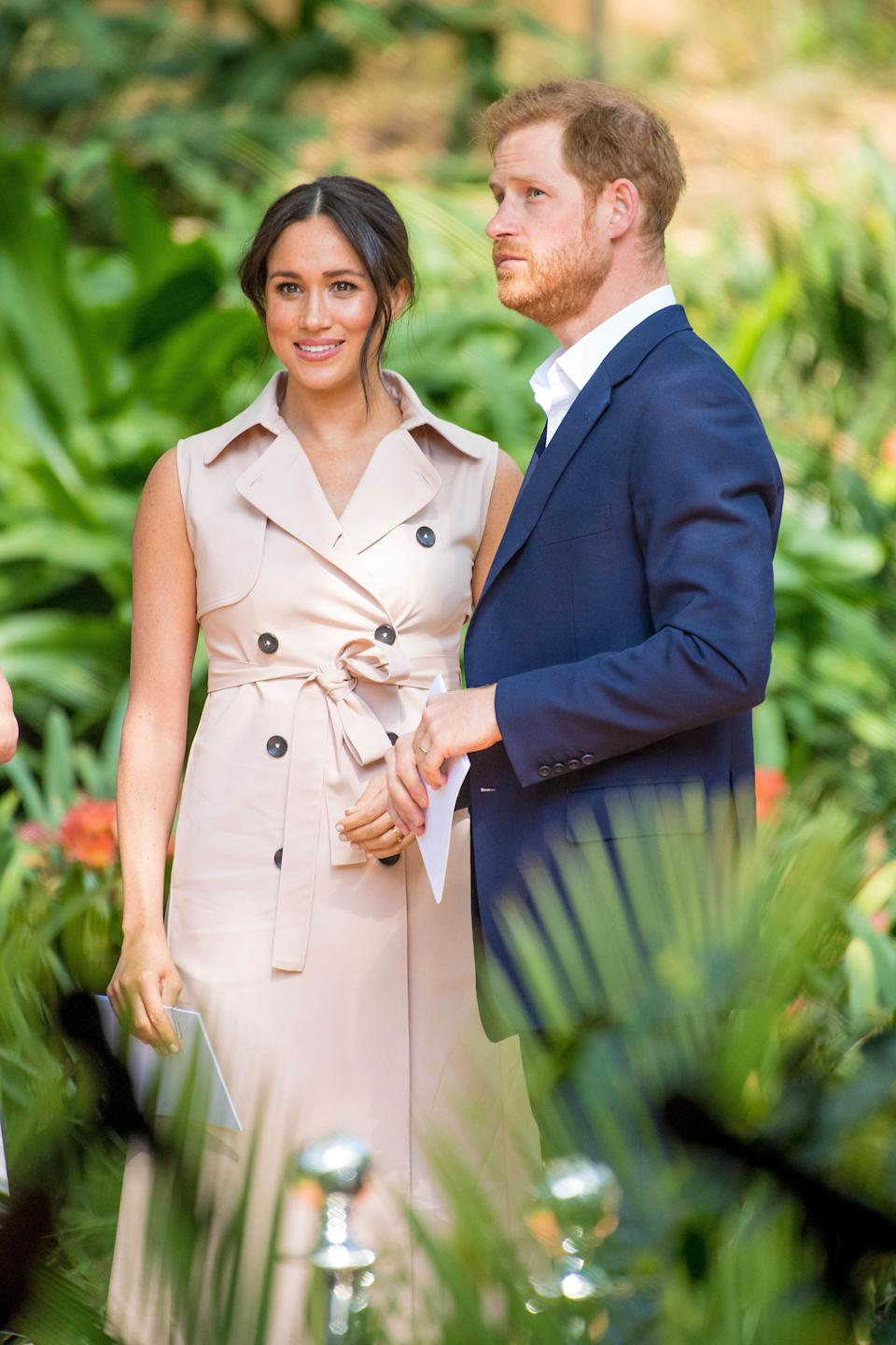Harry and Meghan are probably hoping they'll have more privacy in Canada (Picture: PA)