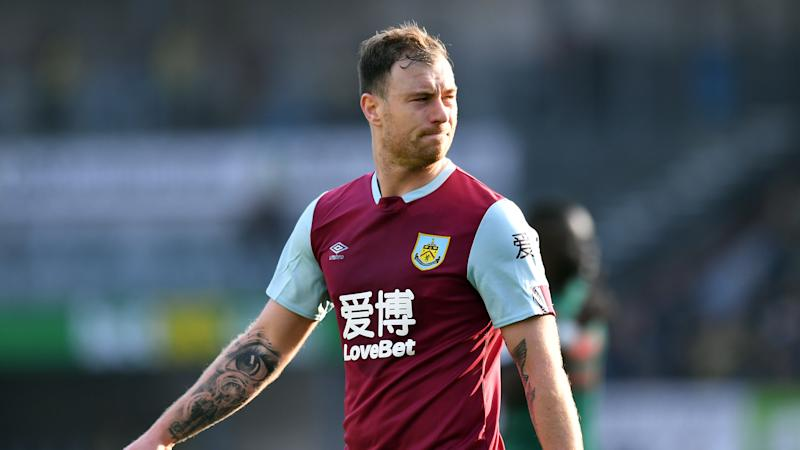 Burnley striker Ashley Barnes to see specialist over groin injury