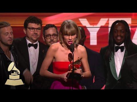 "<p>Taylor took this opportunity to subtly shade Kanye West. Good for her.</p><p><a href=""https://www.youtube.com/watch?v=dMCAEUb0h34"" rel=""nofollow noopener"" target=""_blank"" data-ylk=""slk:See the original post on Youtube"" class=""link rapid-noclick-resp"">See the original post on Youtube</a></p>"