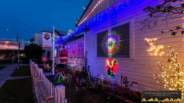 Last year the local business won their local Christmas lights display competition. Photo: Meryllyn Page Conveyancing