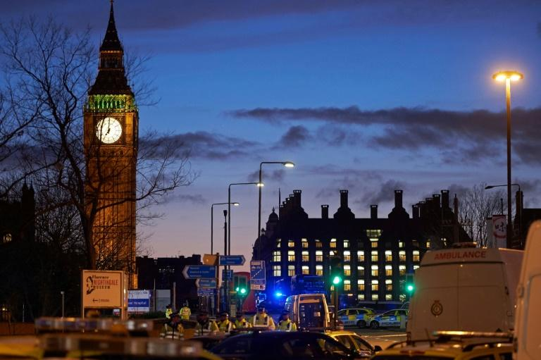 Westminster Bridge is a busy tourist spot with its views of parliament's Big Ben clock tower