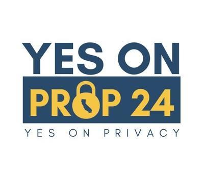 Yes on Privacy, Yes on Prop 24 (PRNewsfoto/Californians for Consumer Priva)
