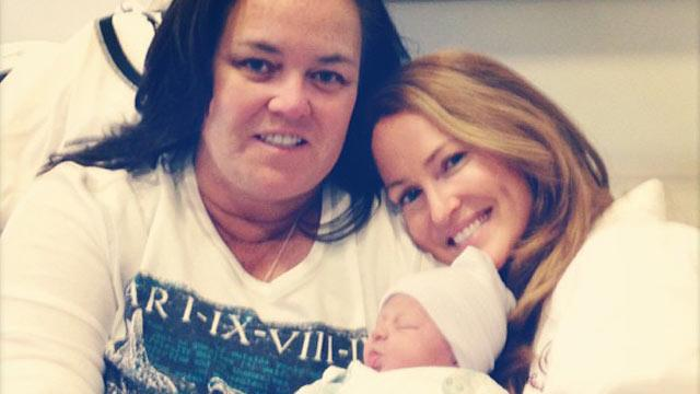 Rosie O'Donnell Welcomes Baby Girl