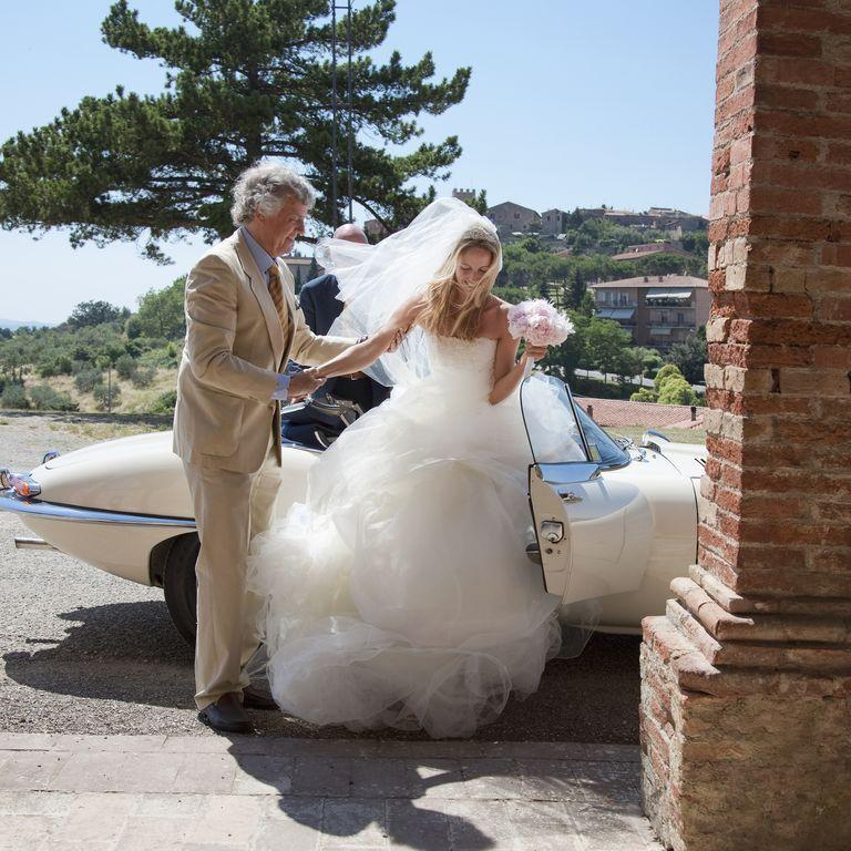 "<p>The general rule of thumb for arriving to the ceremony is that you should be in your seat 10 minutes before it is supposed to start. ""Walking in as the bride (or groom) is walking down the aisle in incredibly rude and <a href=""https://www.goodhousekeeping.com/life/g5189/what-you-should-never-do-at-a-wedding/?slide=2"">ruins video and photos</a> that are being taken,"" shares Brand Hamerstone, owner of <a href=""https://alleventsplanned.com/"">All Events Planned</a>.</p>"