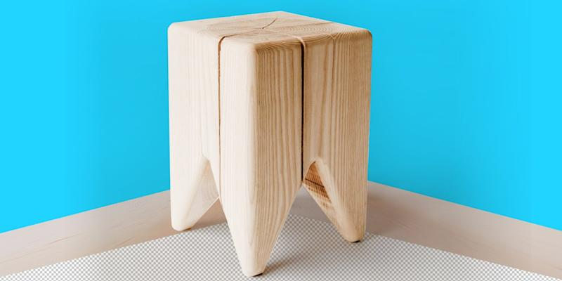 This small natural wood stool probably won't help with your lack of seating (unless you are only hosting toddlers), but the delightful design will make you happy every time you see it nestled in a corner. SHOP NOW: Stump by Kalon Studios, $85, kalonstudios.com