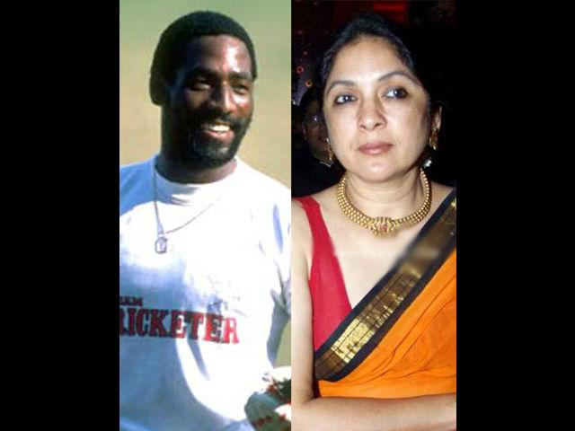<p><strong>Neena Gupta-Vivian Richards</strong><br /><br />This couple had a very short and controversial relationship. When Bollywood actor Neena and West Indian cricketer Richards were together they created lot of controversies and headlines. Masaba Gupta is the love child of this famous couple. Of course, they never got married.</p>