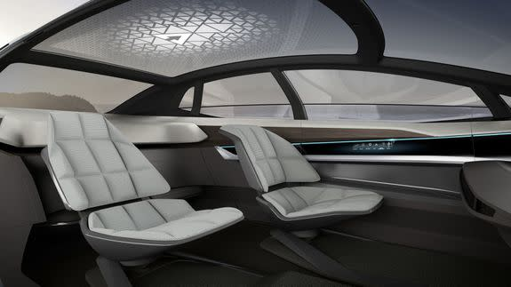 Rendering of the interior.