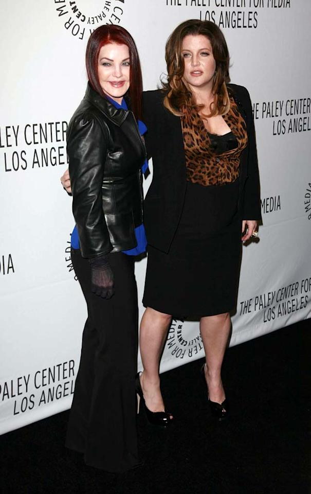"""Priscilla Presley chastized the tabloids for scrutinizing her daughter Lisa Marie's weight gain, which was revealed to be the result of pregnancy. 62-year-old Priscilla will be a target of criticism herself -- she's competing on """"Dancing With the Stars."""" Kiley Bishop/London Entertainment/<a href=""""http://www.splashnewsonline.com"""" target=""""new"""">Splash News</a> - March 14, 2008"""