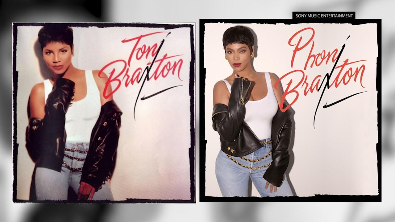 """Seven-time Grammy winner Toni Braxton is stepping behind the camera to learn the business of TV movies. But with three new Grammy nominations, she says she'll always choose music """"over anything"""" because she loves it """"so much."""" (Dec. 14)"""
