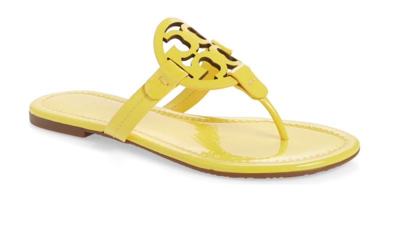 Tory Burch Miller Flip Flop in Limone