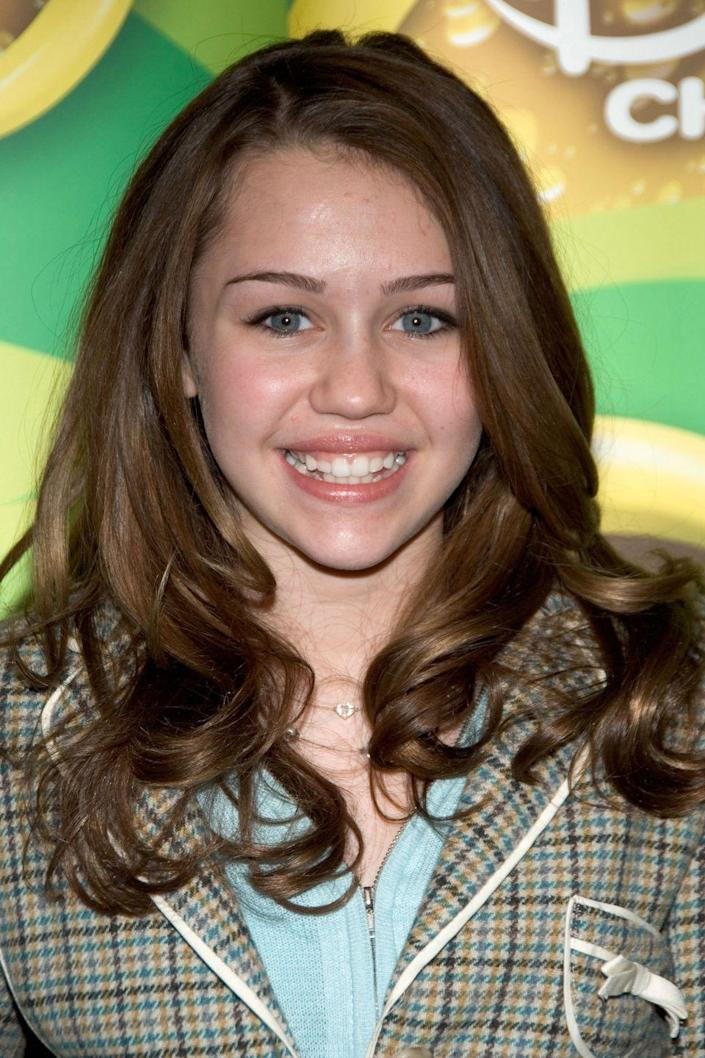 """<p>After all, she was already popping a highlighted blonde wig over her naturally medium-brown hair when she was playing <a href=""""https://www.amazon.com/Hannah-Montana-Season-Miley-Cyrus/dp/B001EOQWNK/ref=sr_1_2?tag=syn-yahoo-20&ascsubtag=%5Bartid%7C10050.g.4942%5Bsrc%7Cyahoo-us"""" rel=""""nofollow noopener"""" target=""""_blank"""" data-ylk=""""slk:Hannah Montana"""" class=""""link rapid-noclick-resp"""">Hannah Montana</a>.</p>"""