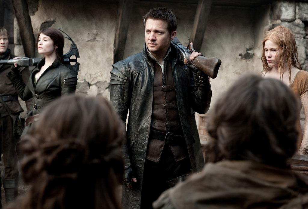 "Gemma Arterton and Jeremy Renner in Paramount Pictures' ""Hansel & Gretel: Witch Hunters"" - 2013"