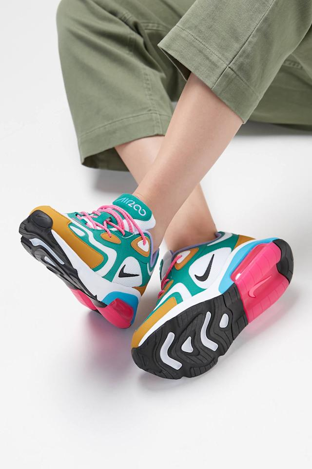 "<p>Make a statement in these fun <a href=""https://www.popsugar.com/buy/Nike-Air-Max-200-Sneakers-477475?p_name=Nike%20Air%20Max%20200%20Sneakers&retailer=urbanoutfitters.com&pid=477475&price=120&evar1=fab%3Auk&evar9=46477063&evar98=https%3A%2F%2Fwww.popsugar.com%2Ffashion%2Fphoto-gallery%2F46477063%2Fimage%2F46477074%2FNike-Air-Max-200-Sneakers&list1=shopping%2Curban%20outfitters%2Cathleisure&prop13=api&pdata=1"" rel=""nofollow"" data-shoppable-link=""1"" target=""_blank"" class=""ga-track"" data-ga-category=""Related"" data-ga-label=""https://www.urbanoutfitters.com/shop/nike-air-max-200-sneaker?category=womens-new-arrivals&amp;color=000&amp;type=REGULAR"" data-ga-action=""In-Line Links"">Nike Air Max 200 Sneakers</a> ($120).</p>"