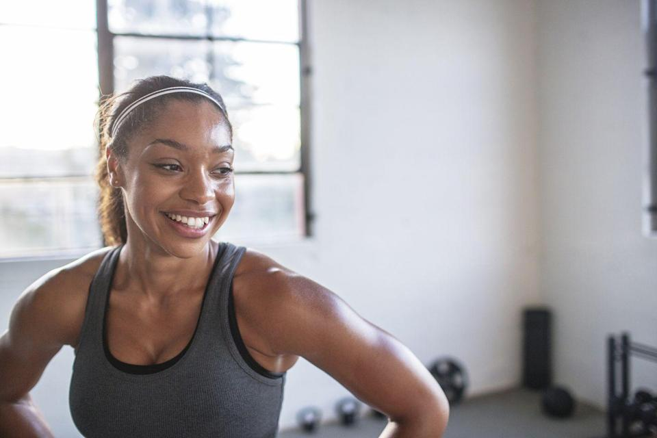"""<p>Talk about a cheap-but-essential option: <em>Runner's World</em> Coach Jess Movold says your mindset is the most important element to bring to a home workout space.</p><p>""""This is your most valuable piece of equipment,"""" she says. """"With a strong mind and the right attitude, you can attack any workout and make it effective.""""</p>"""