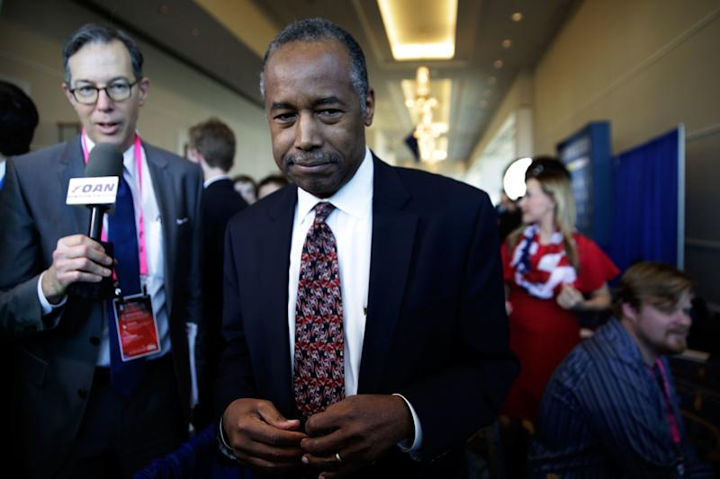 HUD Secretary Ben Carson Was Asked About a Common Term Related to Foreclosure. He Heard 'Oreos'