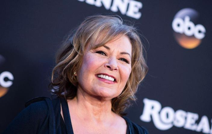 """Roseanne Barr will have no creative or financial involvement in a new spinoff of the hit sitcom """"Roseanne"""" (AFP Photo/VALERIE MACON)"""