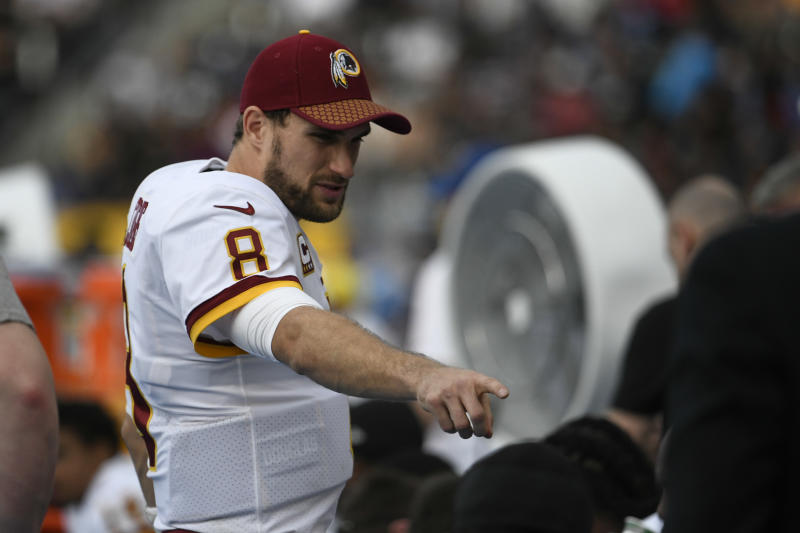 Kirk Cousins' future looms over the Redskins. (AP)