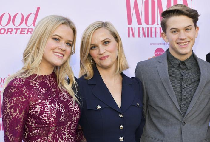 <p>Now 20, Ava looks like a perfect mix of both of her very blonde parents, while 16-year-old Deacon appears to be a mini-clone of his father.</p>