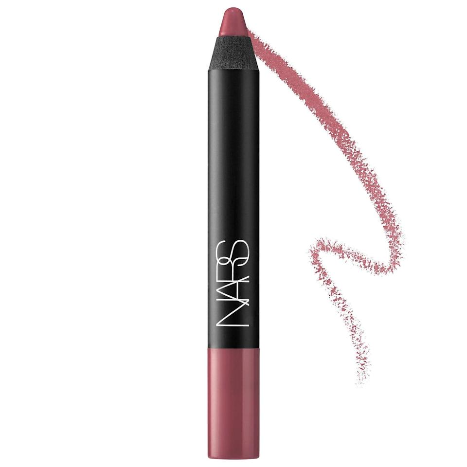 <p>The brown-pink shade of <span>Nars Velvet Matte Lipstick Pencil in Bahama</span> ($27) is almost as decadent as the smooth, easy-to-use pencil it comes in.</p>