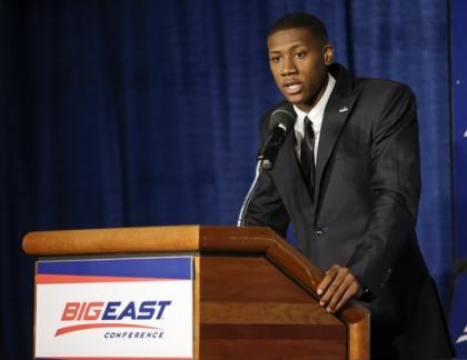 Kris Dunn averaged 15.6 points, 7.5 assists and 2.7 steals for the Friars last season. (AP)