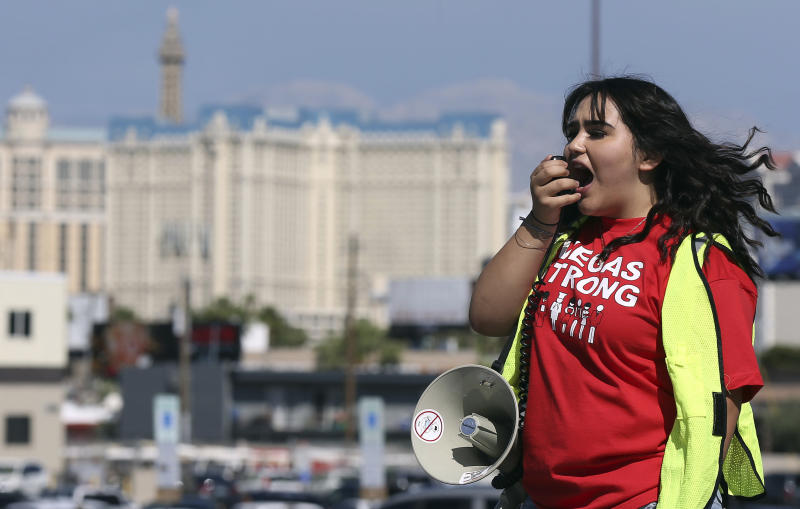 The Latest: Las Vegas casino strike would have ripple effect