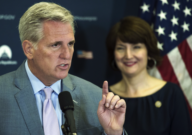 House leader Kevin McCarthy suggested Putin was paying Trump