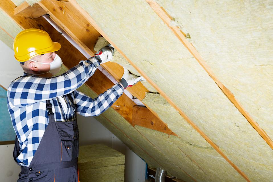 Roof insulation is one of the measures covered by the green home scheme. Credit: Getty.