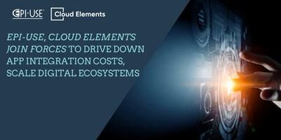 EPI-USE, Cloud Elements join forces to drive down App integration costs, scale digital ecosystems