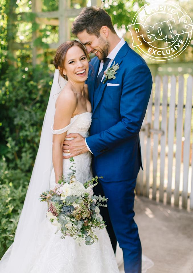 Maddie Rice Wedding.See Every Photo From Brant Daugherty And Kim Hidalgo S Romantic