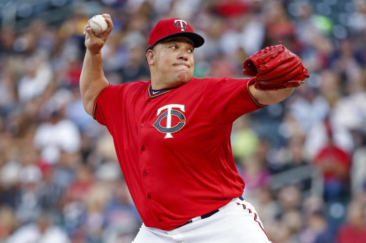 Bartolo Colon became the oldest pitcher in Minnesota Twins history to throw a complete game. (AP)