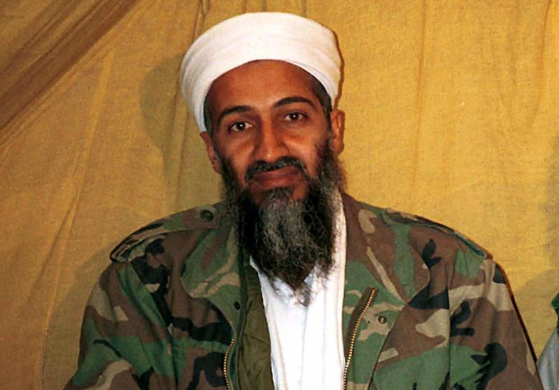 "FILE - This undated file photo shows al Qaida leader Osama bin Laden in Afghanistan. Osama bin Laden's spokesman and son-in-law has been captured by U.S. intelligence officials, officials said Thursday, in what a senior congressman called a ""very significant victory"" in the ongoing fight against al-Qaida. A Jordanian security official confirmed that al-Ghaith was handed over last week to U.S. law enforcement officials under both nations' extradition treaty. He declined to disclose other details and spoke on condition of anonymity because of the sensitivity of the matter.  (AP Photo)"