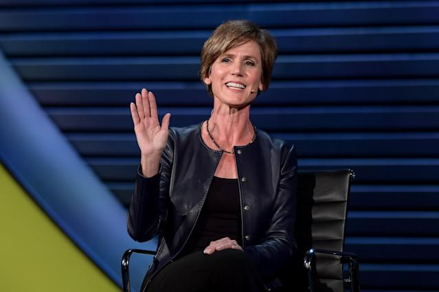 Sally Yates at the 2018 Women in the World Summit in New York City. (Photo: Women in the World)