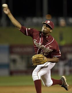 Winston said he hopes to play professionally in both football and baseball. (AP)