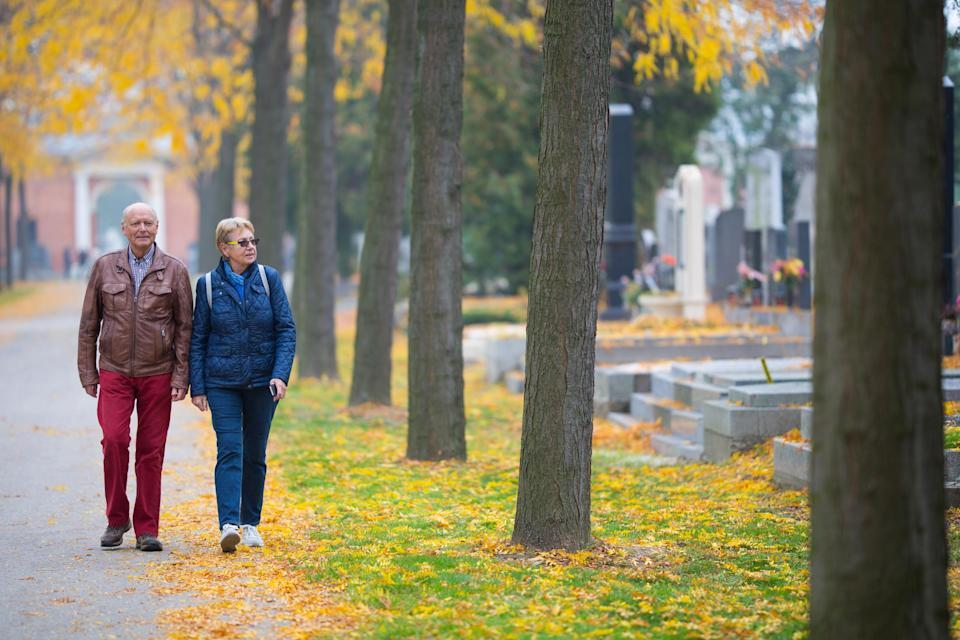 <em>Older people are less afraid of dying, YouGov research revealed (Picture: Getty)</em>