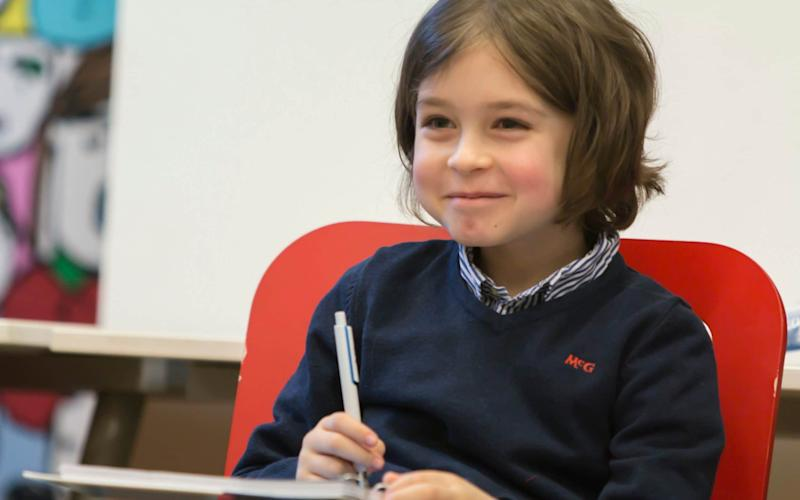 Laurent Simons will soon be the world's youngest graduate - Family handout