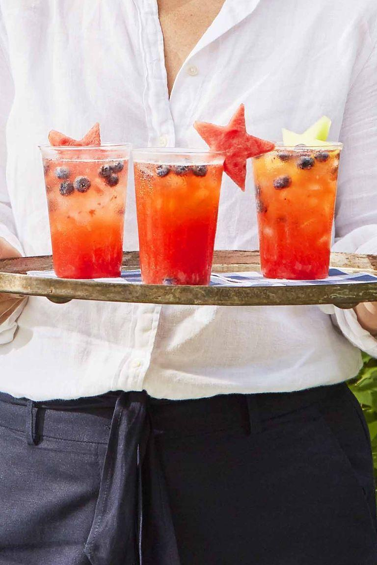 """<p>Maple syrup is the secret ingredient in this festive strawberry-lemonade punch drink. </p><p><strong><em>Get the recipe at <a href=""""https://www.countryliving.com/food-drinks/a32353888/strawberry-lemonade-punch/"""" rel=""""nofollow noopener"""" target=""""_blank"""" data-ylk=""""slk:Country Living"""" class=""""link rapid-noclick-resp"""">Country Living</a>. </em></strong></p>"""