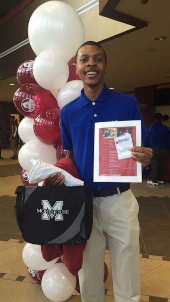 PHOTO: Dacavien Reeves is pictured as a freshman at Morehouse College. (Dacavien Reeves )