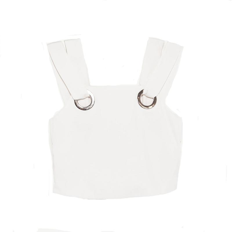 """<p><a href=""""https://www.zara.com/us/en/sale/woman/tops/view-all/top-with-rings-and-side-vents-c732008p4520512.html"""" rel=""""nofollow noopener"""" target=""""_blank"""" data-ylk=""""slk:Top With Rings And Side Vents,"""" class=""""link rapid-noclick-resp"""">Top With Rings And Side Vents,</a> <span><span>$30</span> $20</span></p>"""
