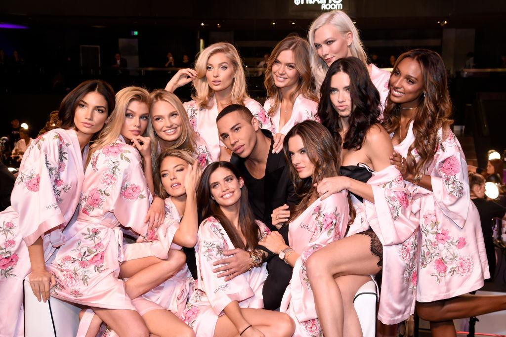 <p>Olivier Rousteing is set to debut the Balmain x Victoria's Secret collection at the Shaghai show. The line is set to launch online and in stores on 29 November. <em>[Photo: Getty]</em> </p>