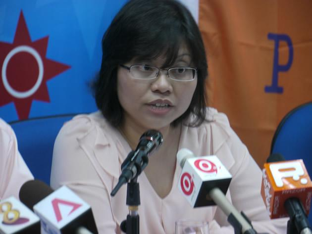 NSP secretary-general Hazel Poa, who on 19 September announced her decision to step down from her post. (Yahoo file photo)