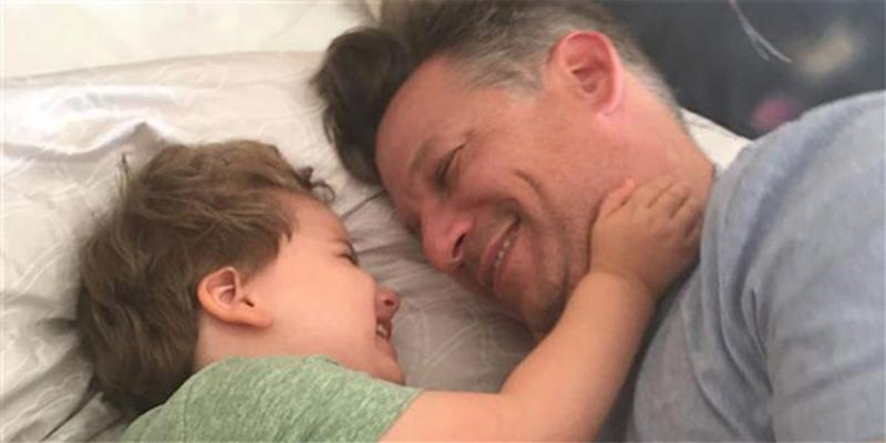Richard Engel and son Henry | TODAY