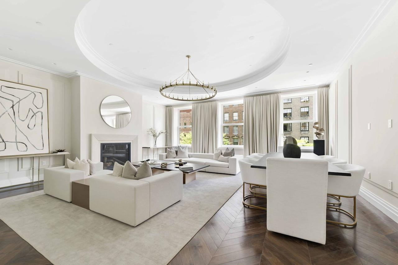 "<p>Her father, Reginald Vanderbilt, had lived there before he met her mother, the heiress and designer told the <em><a href=""https://www.wsj.com/articles/penthouse-in-gloria-vanderbilts-childhood-mansion-asks-30-million-1528296343"" target=""_blank"">Wall Street Journal</a></em>. ""He lived there during the winter months and, when summer came, moved to his house Sandy Point Farm in Newport, where he had a huge stable,"" Vanderbilt said.</p>"